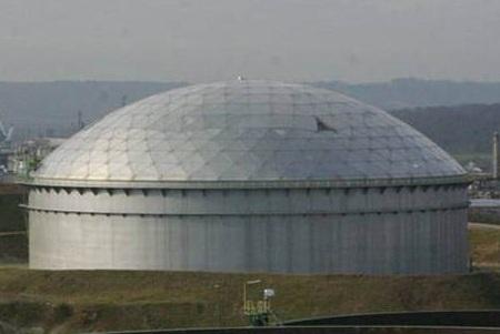 Clear Span Aluminum Domes For Api Storage Tanks