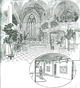 Bigelow Chapel sketch