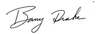 Barry Drake Signature