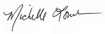 Michelle Lowe Signature