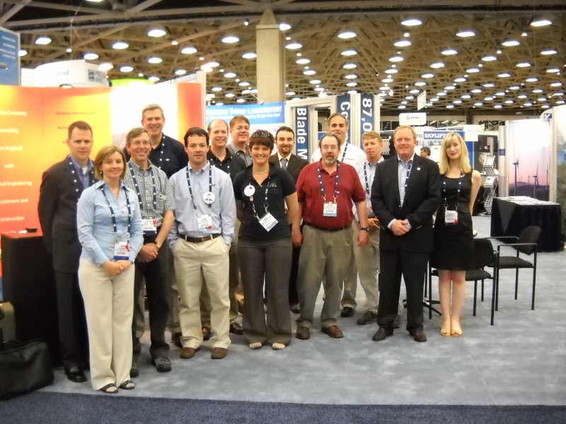 Attendees at Windpower