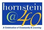Hornstein @ 40 logo