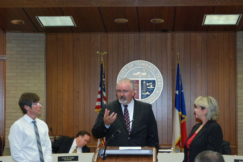 Tomball Oath of Office