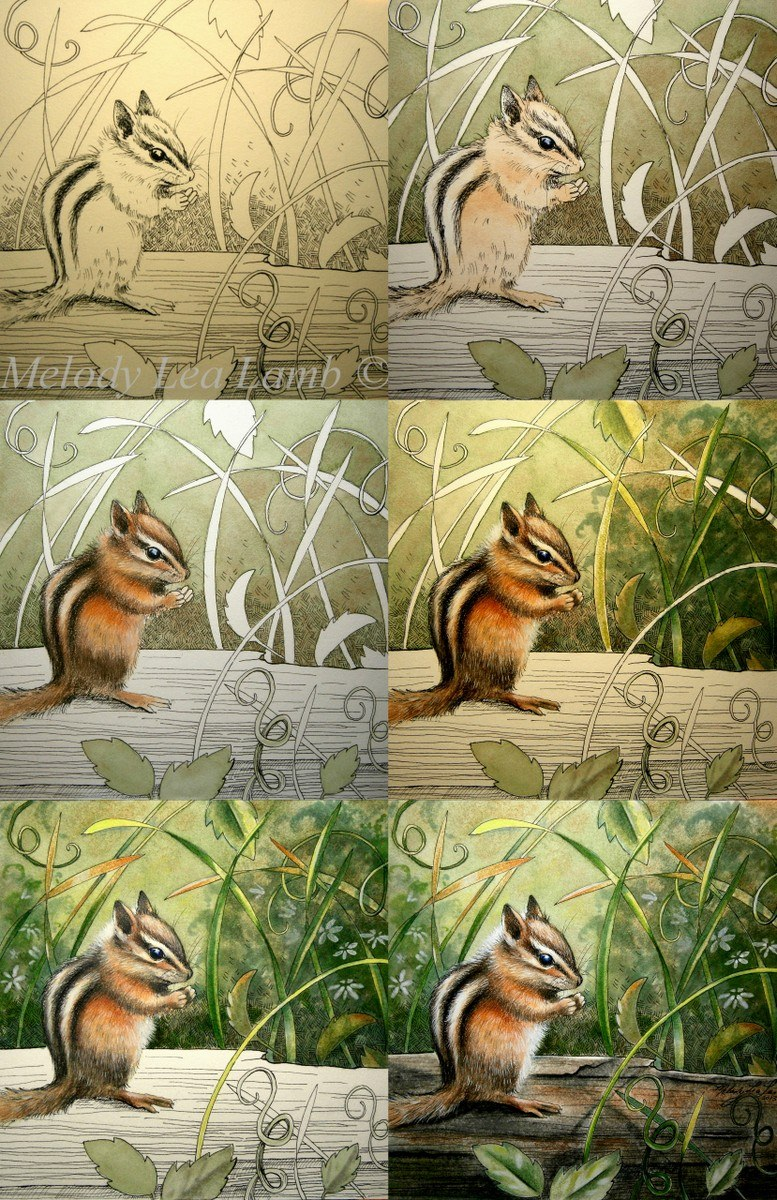 Step by Step of painting