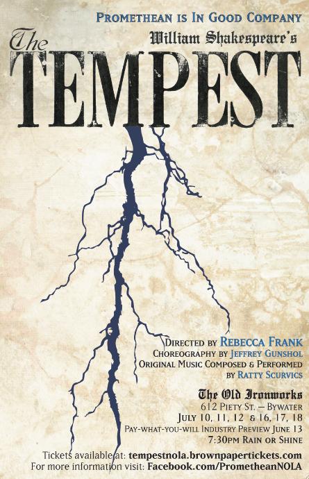 the tempest essay outline