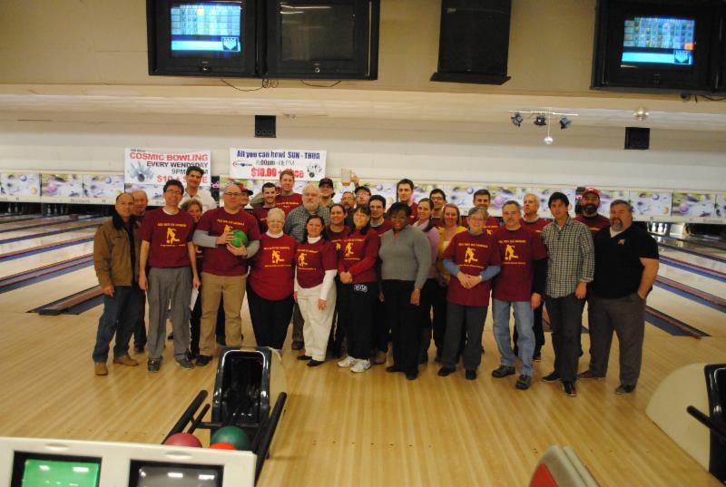Alumni Bowling Night