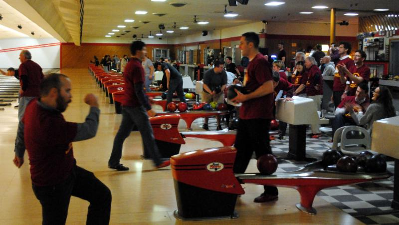 Bowling 2016_Team in Action
