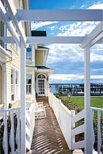 Bay View's Side Porch