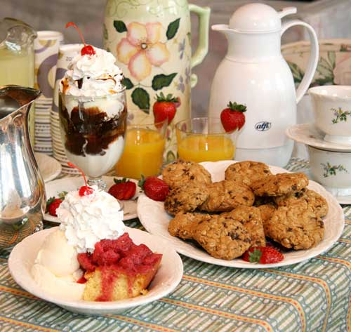 Fill your table up with delicious treats everyone will enjoy