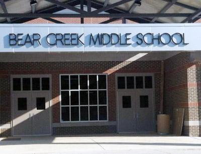 Bear Creek Middle School Nutrition Summer Reading
