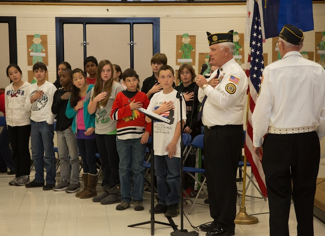 Hunting Ridge School's Veterans Day Ceremony