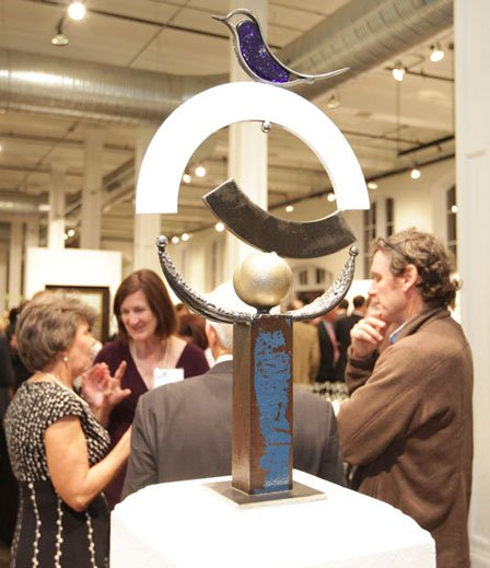 Art for sale at the 2011 SC Arts Gala