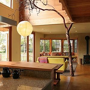 Erika Zavaleta's home in Santa Cruz