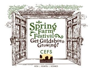 Logo for spring farm festival