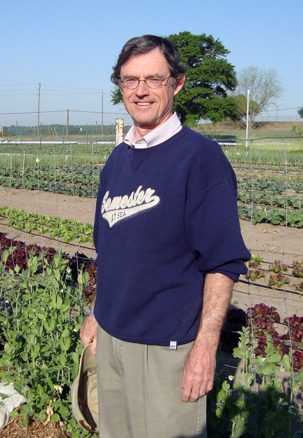 John O'Sullivan at farm