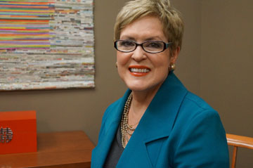 CEFS Board Chair Cheryl Queen of Compass Group