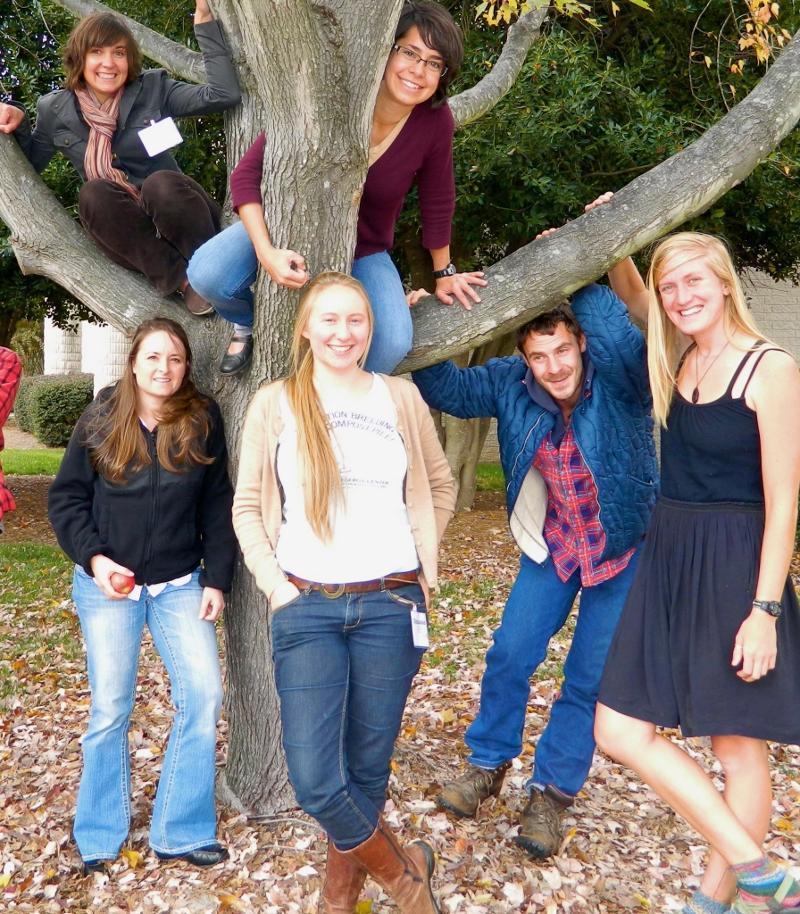 NC FoodCorps Service Members at the Carolina Farm Stewardship Conference