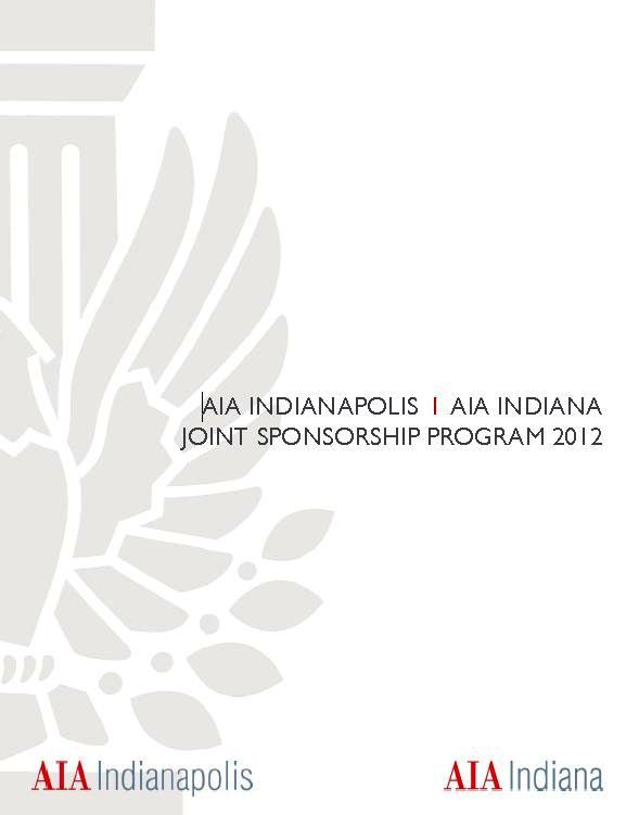 AIA IN/AIA Indy Sponsorship Program