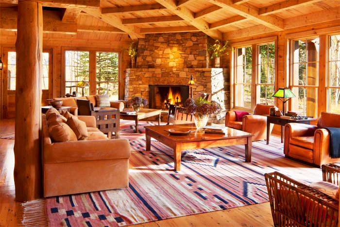 Tom Cruise's Log Home