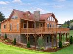 Log Home Exterior