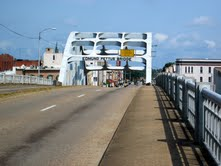 View of Edmund Pettus Bridge. Photo Abigail Gautreau