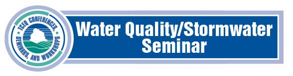 Stormwater Water Quality Seminar Banner Logo