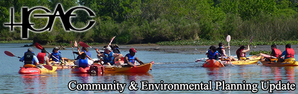 People in canoes - July 2015 Banner for C & E Newsletter