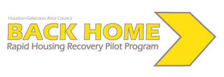 Back Home - Rapid Housing Recovery Pilot Program Logo