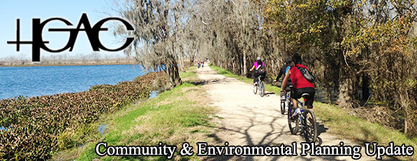 Bicyclists at Brazos Bend State Park - May 2016 Banner
