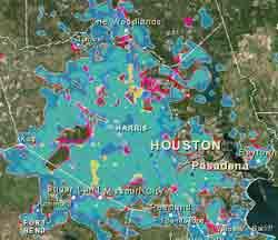 Blue Map Screen Shot