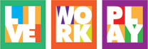 Live Work Play - Livable Centers Logo