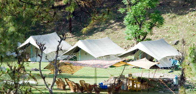 Tons Valley Camp