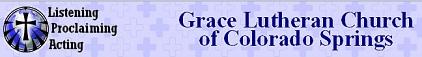 Grace Lutheran Church CS banner