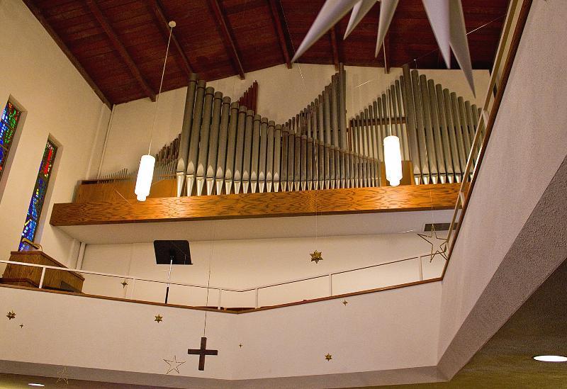 Organ at Grace Lutheran Church in Boulder, CO