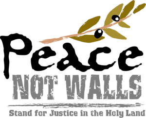Peace Not Walls logo