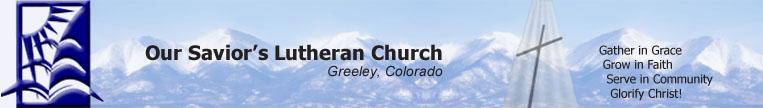Our Savior's Lutheran Church - Greeley logo