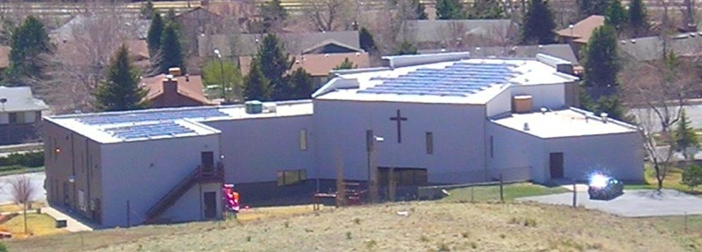 Lutheran Church of the Master solar panels