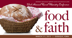 Food and Faith Conference logo