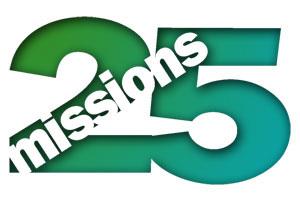 Mission 25 logo