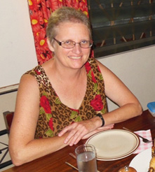 Susan Smith a missionary in the Central African Republic