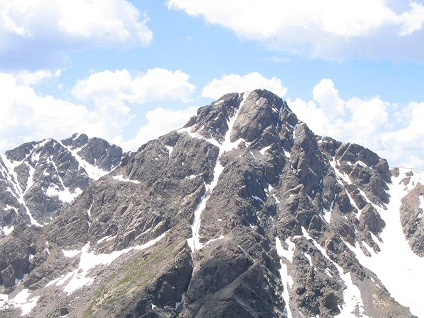 Mount of the Holy Cross mountain