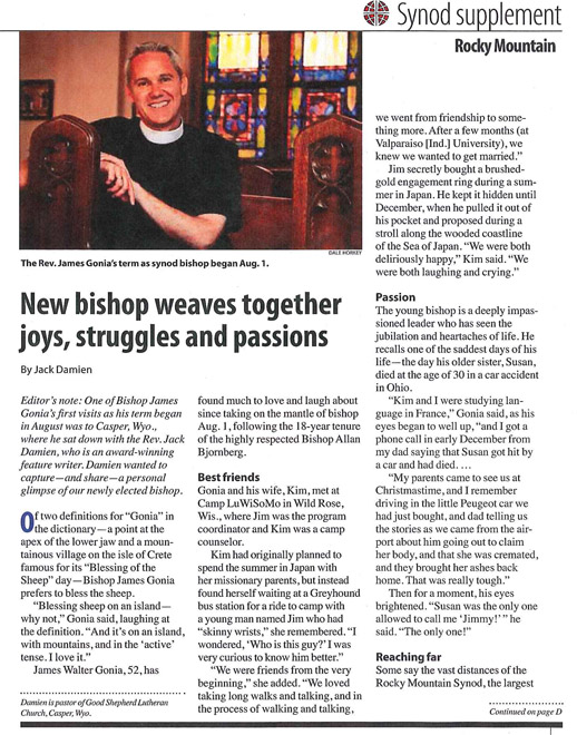 RMS Supplement to the Lutheran Magazine