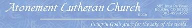 Atonement Lutheran Church-Boulder banner