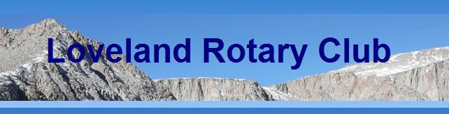 Loveland Rotary Club logo
