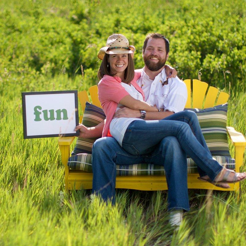 Fun couple image