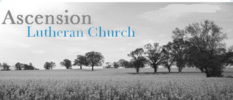 Ascension Lutheran Church banner