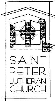 Saint Peter Lutheran Church-GV logo