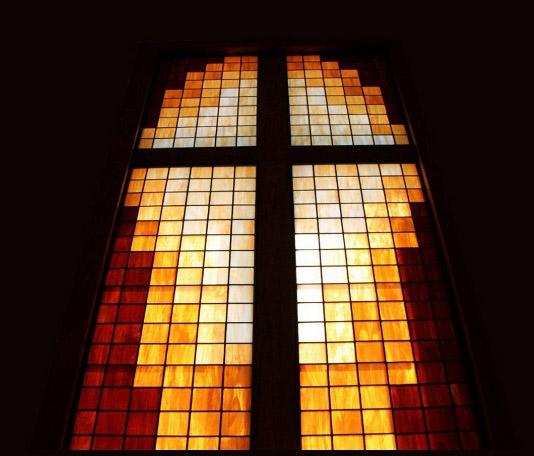 Good Shepherd Lutheran Church-Casper stained glass window