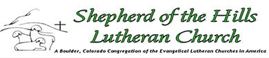Shepherd of the Hills Lutheran Church banner