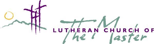 Lutheran Church of the Master logo